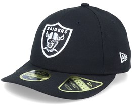 Oakland Raiders Low Profile 59Fifty Black/White Fitted - New Era