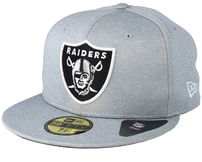 53f5bc3dedc8b Oakland Raiders 59Fifty Shadow Tech Grey Fitted - New Era caps -  Hatstoreworld.com