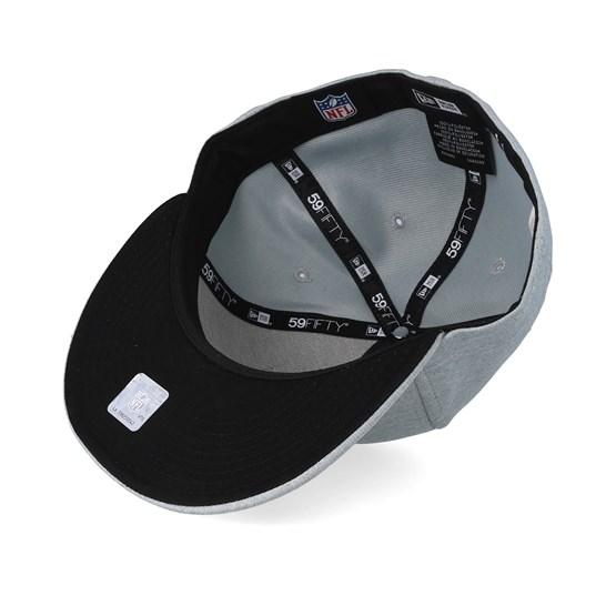 New Era 59Fifty Shadow TECH Cap Oakland Raiders Graphite