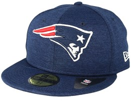 New England Patriots 59Fifty Shadow Tech Blue Fitted - New Era