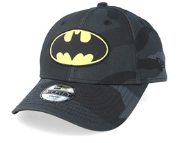 Kids Batman Character 9Forty Black Camo Adjustable - New Era