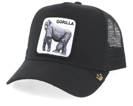 King of the Jungle Black Trucker - Goorin Bros.