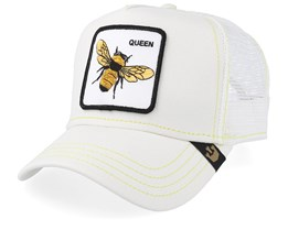 Queen Bee White/White Trucker - Goorin Bros.