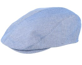 Lukas Blue Flat Cap - Mayser