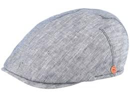 Sidney Grey Flat Cap - Mayser