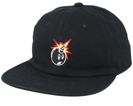 624da1a57 Pale Black Strapback - The Hundreds