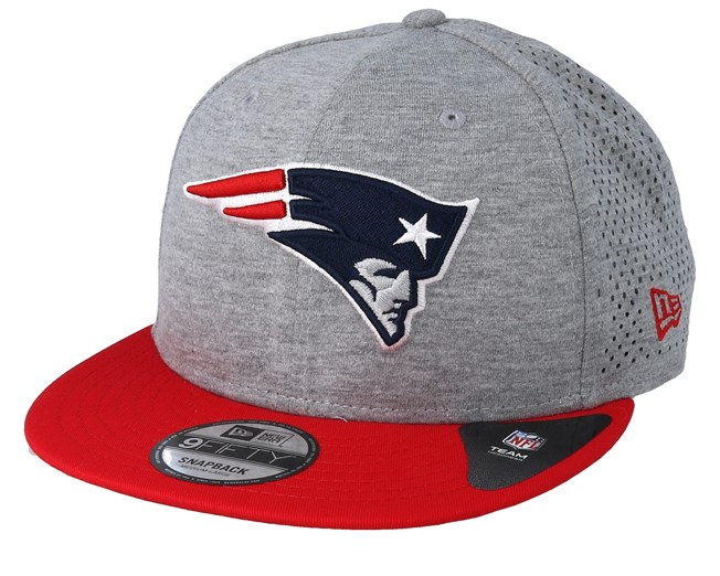 half off d1e04 7222e New England Patriots Shadow Tech 9Fifty Grey Red Snapback - New Era ...