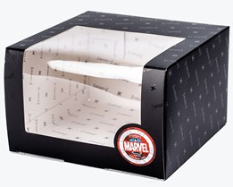 Marvel Gift Box Black - Capslab
