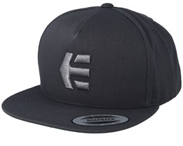 Emark Charcoal/Heather Snapback - Etnies