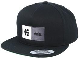 Black Combo Black/Silver/Charcoal Snapback - Etnies