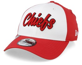 Kansas City Chiefs NFL 19 39Thirty White/Red Flexfit - New Era