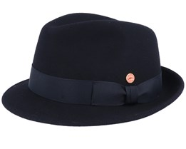 Rickon Wool Black Trilby - Mayser