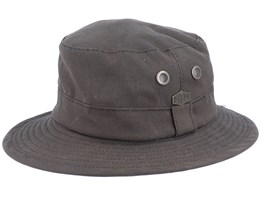Ben Wax Cotton Brown Bucket - MJM Hats