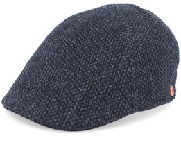 Paddy Casual Black Flat Cap - Mayser