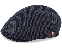 Sidney Amaro Grey Flat Cap - Mayser
