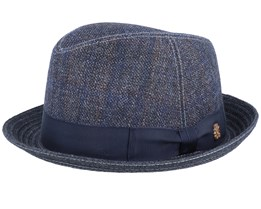 Landon Wool Mix Dark Grey Trilby - Mayser