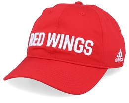 Detroit Red Wings Coach Red/White Adjustable - Adidas