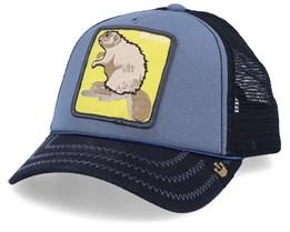 Beaver Blue/Navy/Yellow Trucker - Goorin Bros.