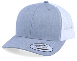 Grey/White Trucker - Yupoong