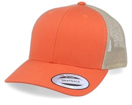 Orange/Sand Trucker - Yupoong