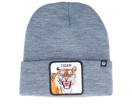 Tiger Avec Patch Grey Cuff - Goorin Bros.