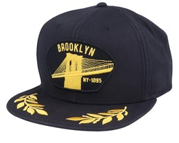 Brooklyn Steel Black/Gold Snapback - Goorin Bros.
