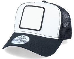 Blank Patch White/Black Trucker - Equip
