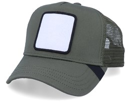 Blank Patch Olive Trucker - Equip