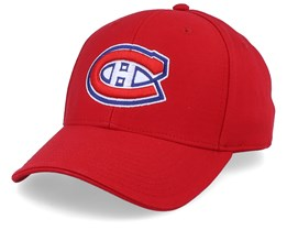 Montreal Canadiens Value Core Structured Red Adjustable - Fanatics