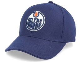 Edmonton Oilers Value Core Structured Navy Adjustable - Fanatics
