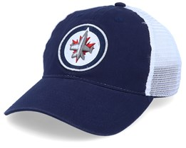 Winnipeg Jets Value Core Unstructured Navy/White Trucker - Fanatics