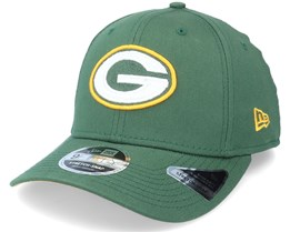 Green Bay Packers Team Stretch 9Fifty Green Adjustable - New Era