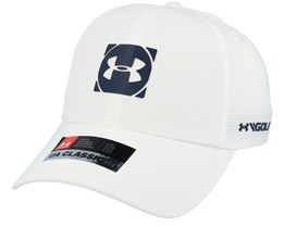 Official Tour 3.0 White/Academy Navy Flexfit - Under Armour