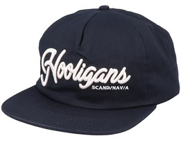 The Scandinavian Unstructured Cap Black Snapback - Northern Hooligans