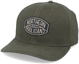 The Golden Cap Forest Green Adjustable - Northern Hooligans