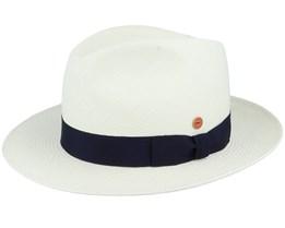 Albenga Panama Bleached Straw Hat - Mayser