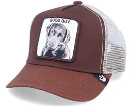 Kids Puppy Dog Eyes Brown Trucker - Goorin Bros.