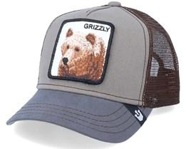 Kids Little Grizzly Grey Trucker - Goorin Bros.