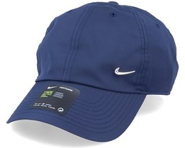 Metal Swoosh Cap Obsidian Blue Adjustable - Nike