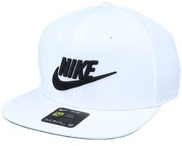 Pro Unisex Sportswear Cap White/Black Snapback - Nike
