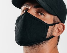 2-Pack Black Face Mask - Headzone