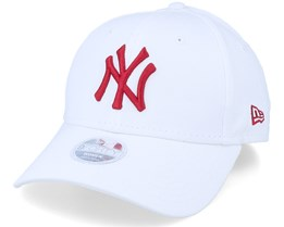 New York Yankees Women's League Essential 9Forty White/Red Adjustable - New Era