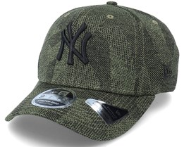New York Yankees Engineered Fit 9Fifty Stretch Snap November Green Adjustable - New Era