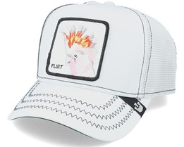 Big Flirt White/Black Trucker - Goorin Bros.