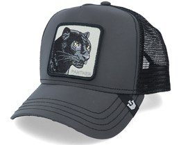 Shine Bright Black Panther Reflective/Black Trucker - Goorin Bros.