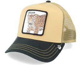 Jaguar Khaki/Black Trucker - Goorin Bros.