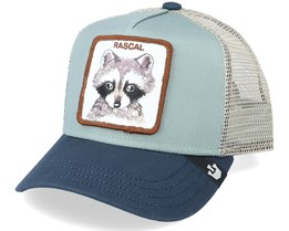 Kids Little Rascal Mint/Grey Trucker - Goorin Bros.