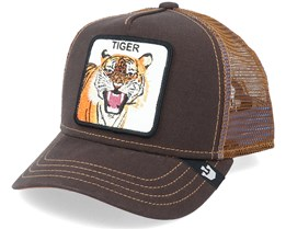 Kids Little Tiger Brown Trucker - Goorin Bros.