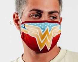 1 Pack Wonder Woman Logo Face Mask - Bioworld