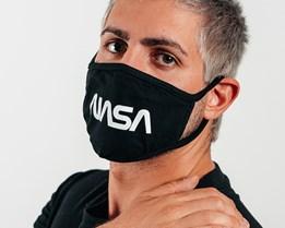 1-Pack NASA 2 Black Face Mask - Headzone